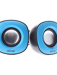 2.0 Speaker Portable Digital Caractéristique Egg Blue