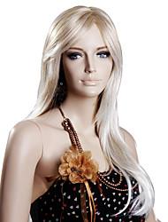 Hoge kwaliteit kunststof Medium Blond Pruiken