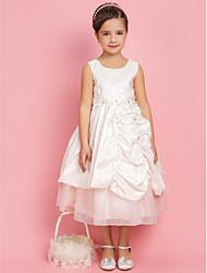 Онлайн принцессы Jewel чай длины тафта Цветочница платье
