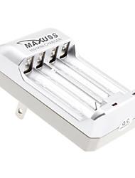 Maxuss Mini Charger for 2 x AA AAA NI-MH Battery