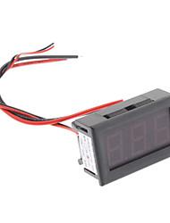 3-Digit Display Panel Affichage numérique / Ampèremètre (Noir, DC 10A)