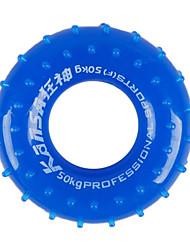 Pure-cor PVC Punho Mão Redonda para Fitness (cor aleatória)