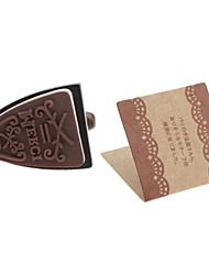 Flatiron Style Merci Pattern Mini Signet