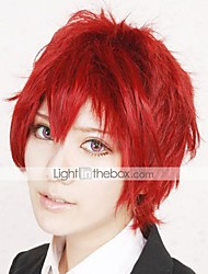 Cosplay Wigs Naruto Sasori Red Short Anime Cosplay Wigs 30 CM Heat Resistant Fiber Male