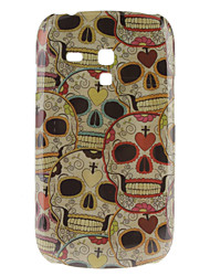 Skull Pattern Hard Case für Samsung Galaxy S3 Mini I8190