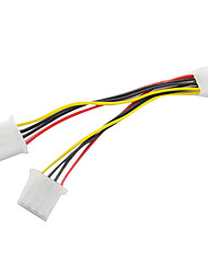 One to Two DB 4pin IDE Cable (15 cm)