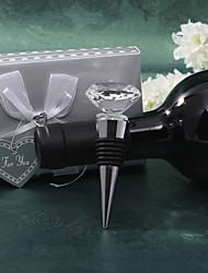 cristal de diamante tapón de vino