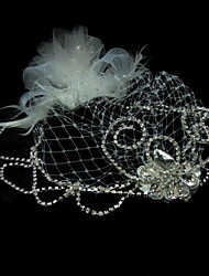 Women's Tulle Headpiece - Wedding/Special Occasion/Casual Fascinators/Birdcage Veils