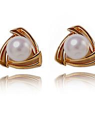 Elegante lega perla irregolare Orecchini