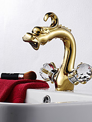 Bathroom Sink Faucets Antique Brass Rose Gold