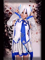 Inspiriert von Vocaloid Snow Miku Video Spiel Cosplay Kostüme Cosplay Kostüme ÄrmellosWeste / Rock / Kopfbedeckung / Krawatte / Ärmel /