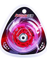 Резина и углеродистой стали Skate колеса Мерцающие демпфирования Anti-показывать красный (1шт, диаметр = 72 мм)