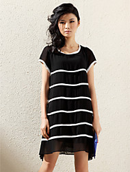 TS Stripes Short Sleeve Dress