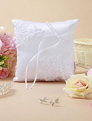 Hochzeit Ringkissen mit Stickerei und Ribbon