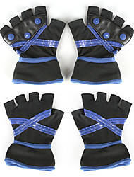 Sora Black and Blue Cosplay Gloves
