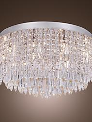 Lámpara Chandelier de Cristal con 12 Bombillas - MAVERICK