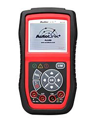 autel® autolink al539 obd2 / ferramenta de teste elétrico obdii