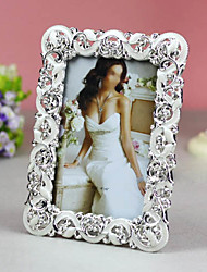 """6"""" Classic Wedding Crystal Picture Frame K07"""