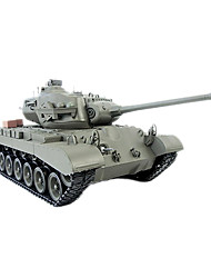 Radio Remote Control Tank 1/16 Snow Leopard Battle RC Tanks W/Smoke R/C Toys