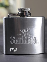 Gift Groomsman Personalized Stainless Steel 2-oz Flask