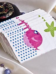 Schöne Fish Guest Handtücher (Set von 12 Packs)