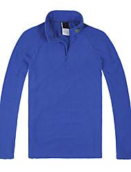 Langzuyoudang Men's Outdoor Windproof Fleece Two-pieces Suit (Top & Pants)