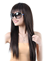 Capless High Quality Synthetic Long Straight Brown Hair Wigs