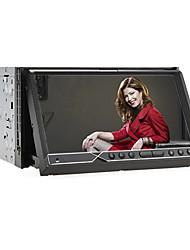 2 din lecteur 7-pouces TFT écran au tableau de bord de voiture dvd avec RDS, Bluetooth, TV, iPod-entrée
