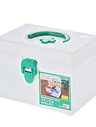 Saúde 18x13.5x12cm Medicina caixa de armazenamento de Peito