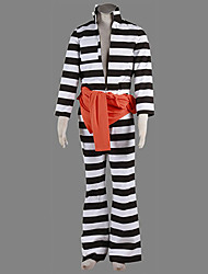 Cosplay Costume Inspired by Lucky Dog1 Luchino Gregoretti Prison Uniform