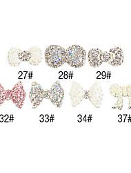 YeManNvYou®5PCS 3D Alloy Nail Decorations Diamond No.6(Assorted Color)