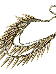 Punk Style Rivet Multilayer Necklace