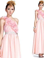 changshe un maxi hombro vestido de novia / vestido de baile