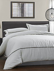 Duvet Cover Sets , Grey / White