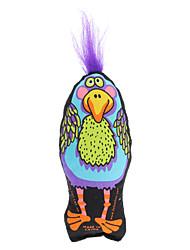 Couche mince Type étrange oiseau organique Catnip Toy pour chat