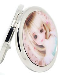 3D Barbie Doll Compact Make Up Mirrors 1PCS Random Send