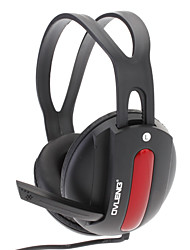 OVLENG Smart External Shape Headphone With Good Sound And Rotary Microphone(Black+Red)S555