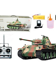 1:16 RC Tank German Panther G-type Heavy Smoke Sound Radio Remote Control Tanks Toys