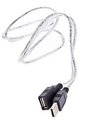 Cuivre Core USB 2.0 AM / AF câble d'extension (1 M)