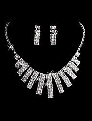 Jewelry Set Women's Anniversary / Wedding / Engagement / Birthday / Party / Special Occasion Jewelry Sets Alloy / Rhinestone Rhinestone