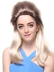 Capless synthétique de haute qualité Droit spécial Hair Style Perruques