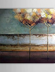 Абстрактная картина маслом, ручной росписи