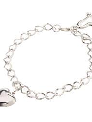 Femme Chaînes & Bracelets Original Amour Mode Alliage Forme de Coeur Amour Bijoux Pour Mariage 1pc