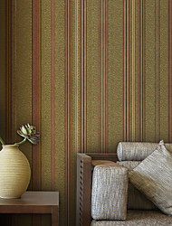 Modern Strip PVC Wall Paper 1304-0062