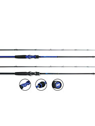 DYNAMIC Royal-Blue Carbon 2.1M Casting Canna da pesca (Medium)