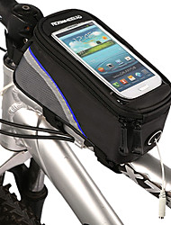 Bike Frame Bag /Phone Bag 4.2 Inch Bicycle Front Bag New Design with Transparent PVC Touchable Mobile Phone Screen