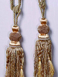 Rust Tassel (One Pair)