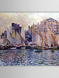 Famous Oil Painting Le Havre Museum by Claude Monet