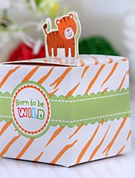 Lovely Lion Baby Shower Favor Box (Set of 12)