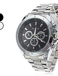 Hombre Reloj Cuarzo Reloj de Vestir Aleación Banda